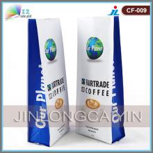 Saco de café lateral com gusset com gusset lateral