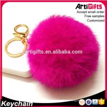 Porte-clés pom pom design personnalisé