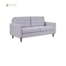 Cafe&Home Use Wood Legs Fabric Double Sofa