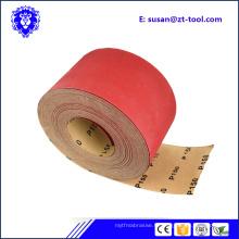 rouleau de papier de sable abrasif pour le matériel de meubles