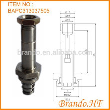 2 Position 3 Way Normally Closed Stainless Steel Tube Electromagnetic Valve Armature