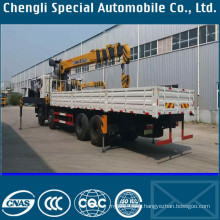 Small 2.5 Ton Truck Crane with Telescopic Boom