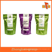 China supplier moisture proof wholesale food grade printed laminated foil ziplock bag