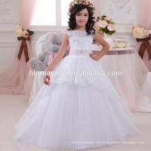El último vestido de los niños diseña el vestido de la muchacha de 9 años para la fiesta y la boda