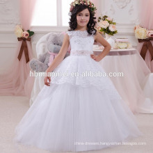 Latest children frock designs girl dress of 9 years old for party and wedding