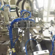 Plastic screw assembly machine