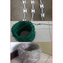Barded Wire Razor Barded Wire PVC Coated Barded Wire