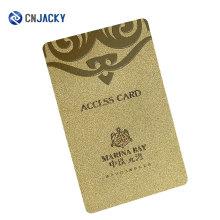 Cartão inteligente RFID personalizado de boa qualidade do cartão de identificação PVC