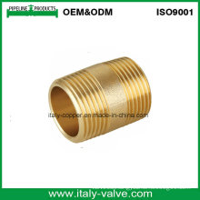 OEM&ODM Brass Forged Nipple Coupling (AV-BF-7007)