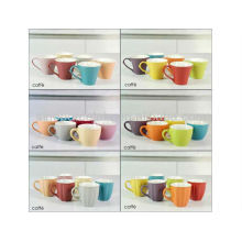 12 colors option espresso ceramic coffee cup for BS12015