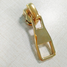 Shiny Gold leather bag Zipper Metal Puller