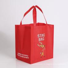 saco de compras de saco colorido não tecido