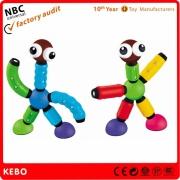 Crianças jogo do brinquedo de plástico de supermercado
