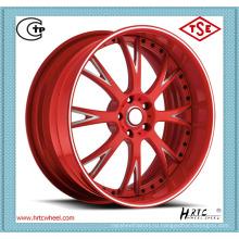 Меньше потребляемой нефти конкурентоспособные цены кованые диски кованый завод колес