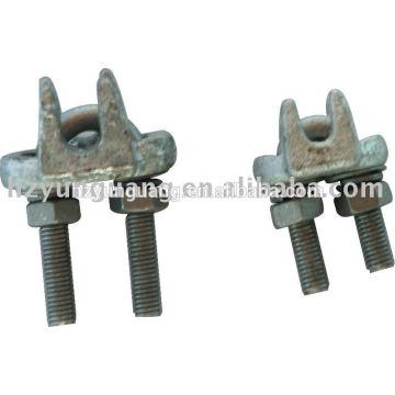 tipo alambre clip líneas aéreas accesorios poste línea hardware montaje cable abrazadera línea eléctrica acero forjado fundido catenaria piezas