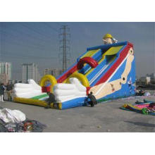 Large Commercial Inflatable Slide, Outdoor Inflatable Slide