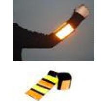 LED reflektierende Slap Wrap elastische Sicherheit reflektierende Armbinde
