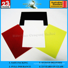 3-6mm Red Painted Lacquered Spandrel Ceramic Glass