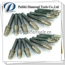 Fraise frittée de diamant de pierre concrète de granit façonnant le peu de meulage de découpage