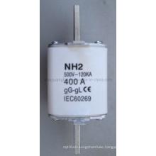 Nh2 415V 400A LV HRC Knife Type Fuse