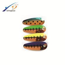 SNL016 Китай оптовая продажа рыболовных компонент алибаба приманки плесень отсадочная металлической ложкой приманки