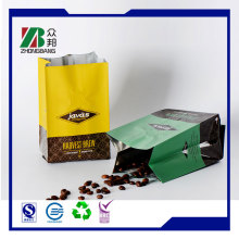 Custom Printing Heat Seal Mylar Bags with Side Gusset