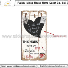 Wooden Blackboard for Home Decor
