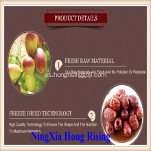 Natural Red Dates de alta calidad azufaifa orgánica