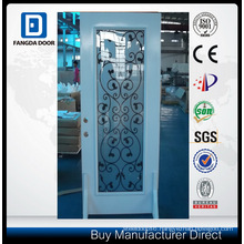 Fangda Pre-Hung, Wrought Iron Glass Steel Door