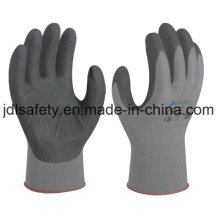 Cotton and Spandex Work Glove with Sandy Nitrile Dipping (N1585)