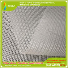 Lona transparente impermeable de PVC