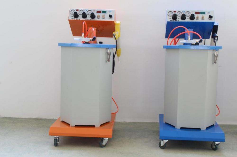 Digital programmable powder machine