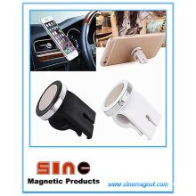 Novo suporte magnético para telefone de carro saída de ar