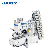 JK4412P Multi-needle Industrial Cylinder Bed 12-needle Double Chain Stitch Sewing Machine Garment Machinery