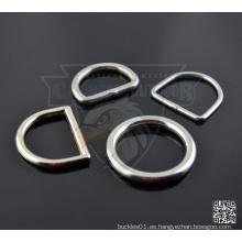 Metal soldado anillos variados para las correas