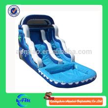 Preço de fábrica por atacado corrediça de água inflável com pool de água slide pool