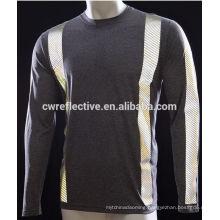 Decorative 5cm pinstripe reflective tape sew on sweater