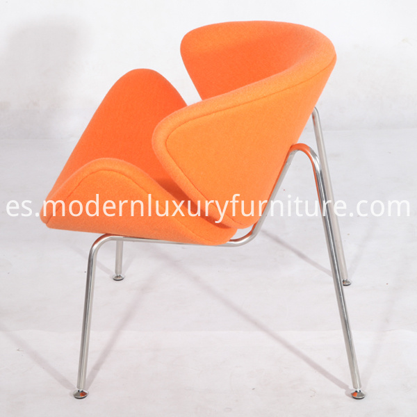 Modern Pierre Paulin Orange Slice Chairs