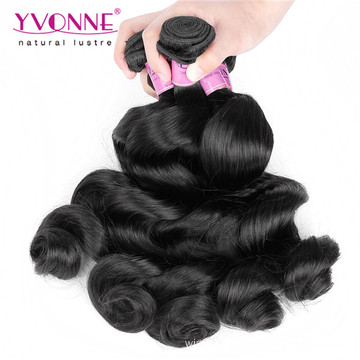 Wholesale Human Hair Extension Peruvian Loose Wave Virgin Hair