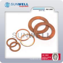 Junta de cobre recocido, arandela de cobre (SUNWELL 1200)