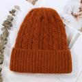 Gorro de malha chapéu mulheres chapéus de inverno por atacado