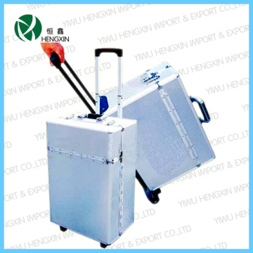 ABS Aluminum Tool Trolley Flight Case with Wheels (HX-PT008)