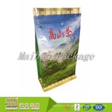 Alta calidad al por mayor de encargo de la impresión del sello térmico orgánica bolsa de té vacía con el logotipo de la etiqueta privada para la venta