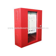 Conventional 8 Zones Fire Control Panel Systems accept two-wire smoke detectors