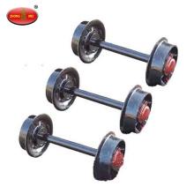 conjunto de roda de carro de mineração conjunto de roda de estrada de ferro