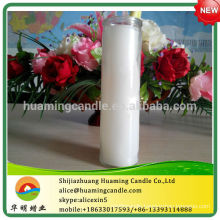 Religious Candle White Color 7 Days Burning Time-- -