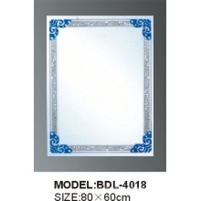 5mm Thickness Silver Glass Bathroom Mirror (BDL-4018)