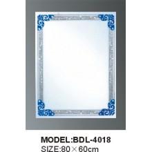 Толщина 5mm Серебряное стеклянное зеркало ванной комнаты (БДЛ-4018)