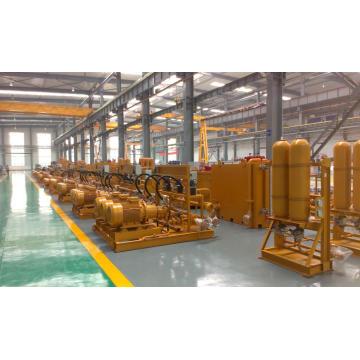 Sistema hidráulico de laminação de tubos