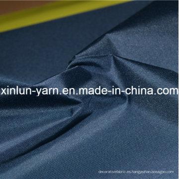 Tela de nylon impermeable del tafetán para la ropa / la tienda / el bolso / la chaqueta